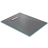 Orion 300 Linear Wetroom Rectangular Shower Tray Former (End Waste) profile small image view 1