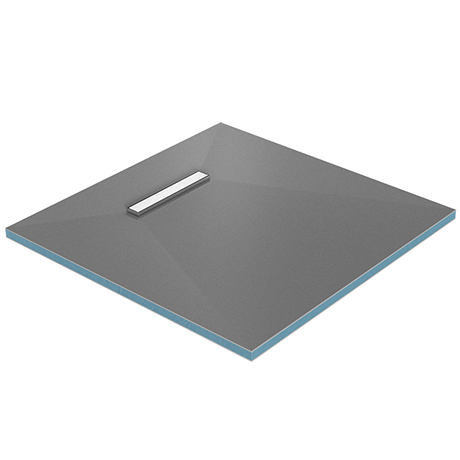 Orion 300 Linear Wetroom Square Shower Tray Former (End Waste)