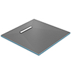 Orion 300 Linear Wetroom Square Shower Tray Former (End Waste) profile small image view 1