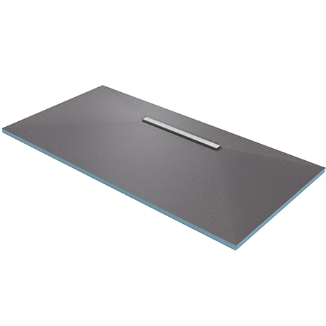 Orion 600 Linear Wetroom Rectangular Shower Tray Former (600mm Offset Waste - 1800 x 900 x 30mm)