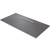 Orion 600 Linear Wetroom Rectangular Shower Tray Former (600mm Offset Waste - 1800 x 900 x 30mm) profile small image view 1