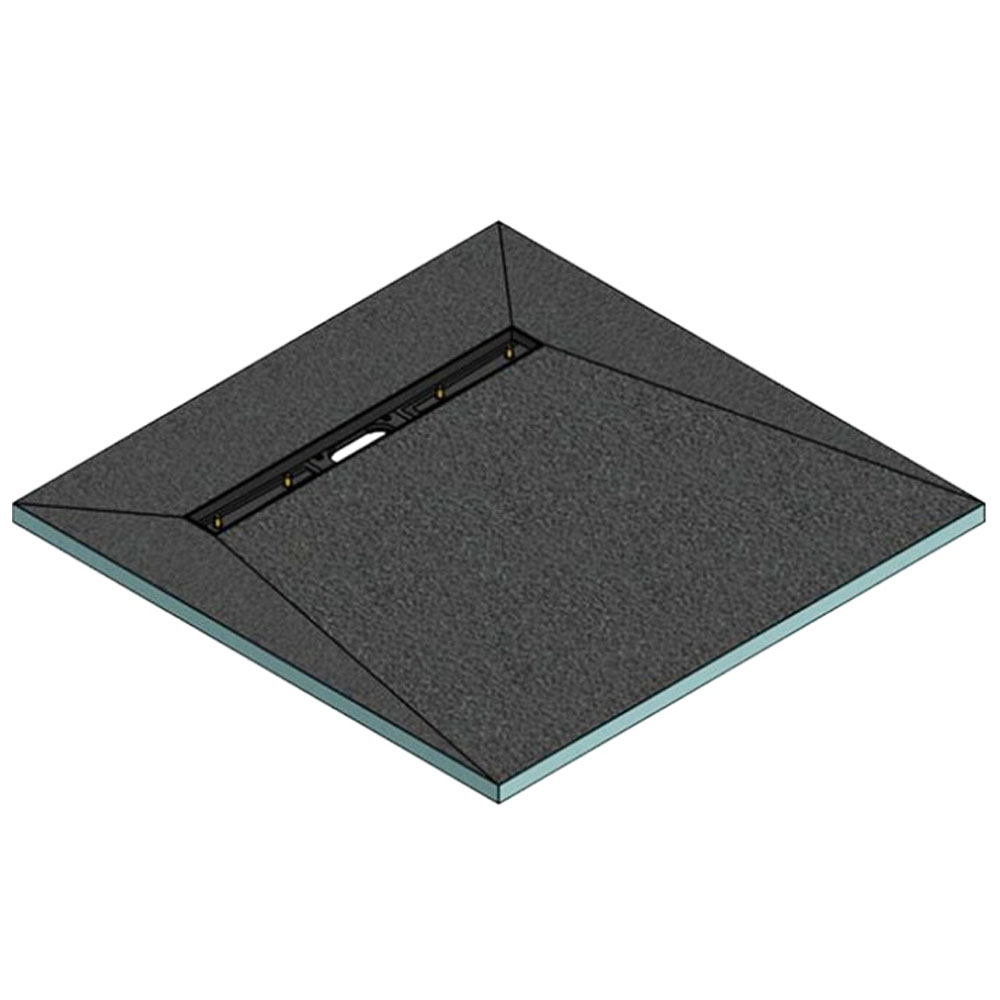 Orion 600 Linear Wetroom Square Shower Tray Former (End Waste)
