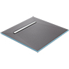 Orion 600 Linear Wetroom Square Shower Tray Former (End Waste) profile small image view 1