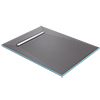 Orion 600 Linear Wetroom Rectangular Shower Tray Former (End Waste) profile small image view 1