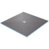 Orion Wetroom Square Shower Tray Former (Centre Waste) profile small image view 1