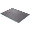 Orion Wetroom Rectangular Shower Tray Former (End Waste) profile small image view 1