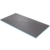Orion Wetroom Rectangular Shower Tray Former (Offset Waste - 1800 x 900 x 30mm) profile small image view 1