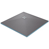 Orion Wetroom Square Shower Tray Former (Corner Waste) profile small image view 1