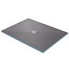 Orion Wetroom Rectangular Shower Tray Former (Centre Waste) profile small image view 1