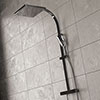 Bristan Vertico Thermostatic Exposed Bar Shower with Rigid Riser - Chrome - VR-SHXDIVFF-C profile small image view 1