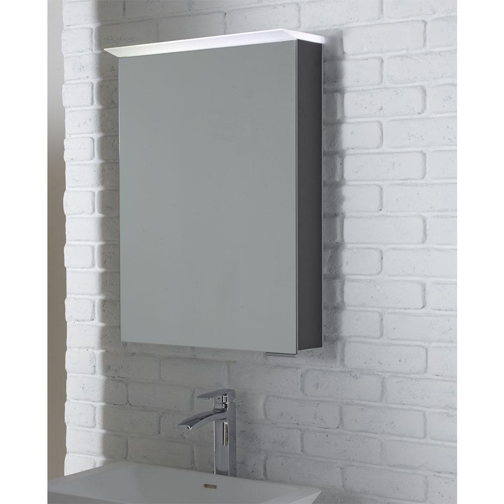 Roper Rhodes Virtue Illuminated Mirror Cabinet - Various Colour Options Standard Large Image