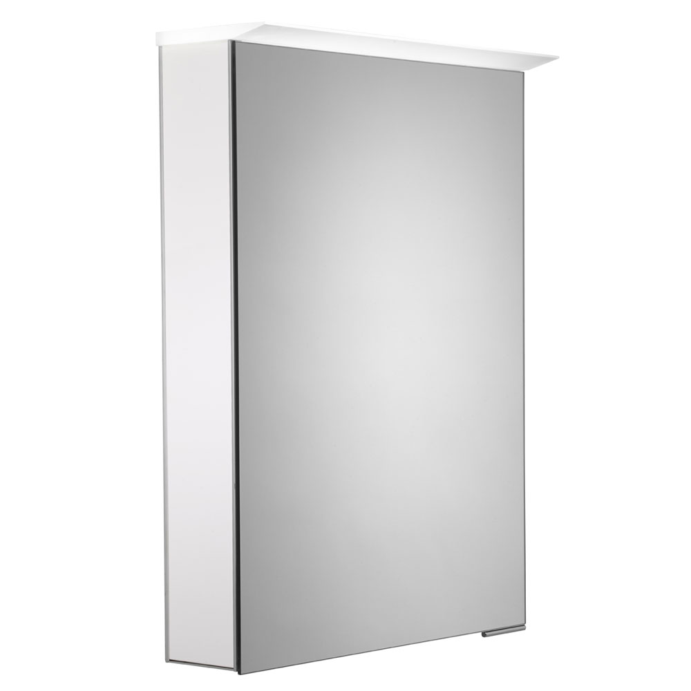 Roper Rhodes Virtue Illuminated Mirror Cabinet - Various Colour Options profile large image view 1