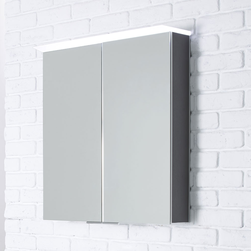 Roper Rhodes Visage Illuminated Mirror Cabinet - Various Colour Options profile large image view 4