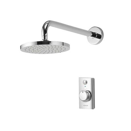 Aqualisa - Visage Digital Concealed Thermostatic Shower with Wall Mounted Fixed Head