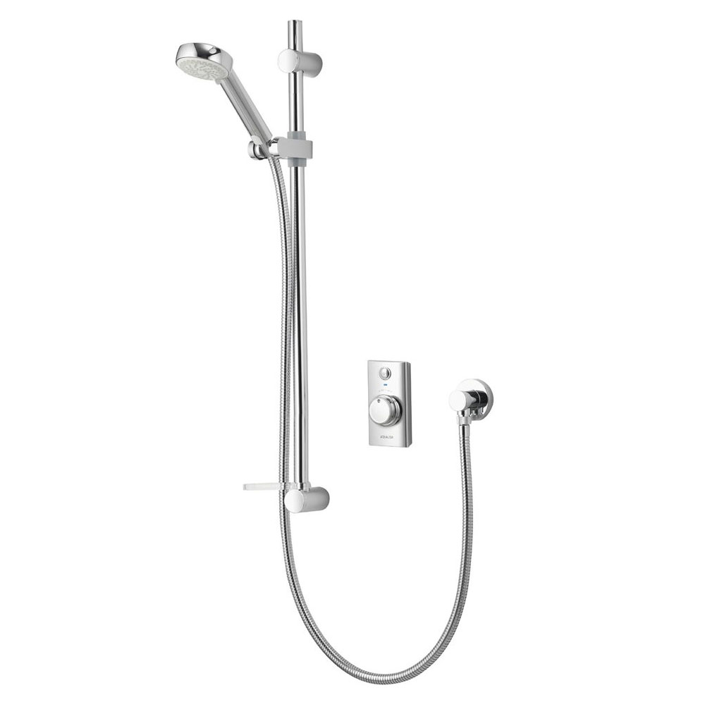 Aqualisa - Visage Digital Concealed Thermostatic Shower with Slide Rail Kit Large Image