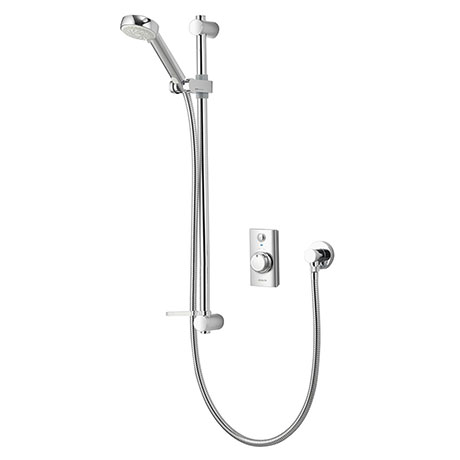Aqualisa - Visage Digital Concealed Thermostatic Shower with Slide Rail Kit