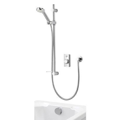 Aqualisa - Visage Digital Concealed Thermostatic Shower with Adjustable Head & Overflow Bath Filler