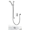 Aqualisa - Visage Digital Concealed Thermostatic Shower with Adjustable Head & Overflow Bath Filler profile small image view 1