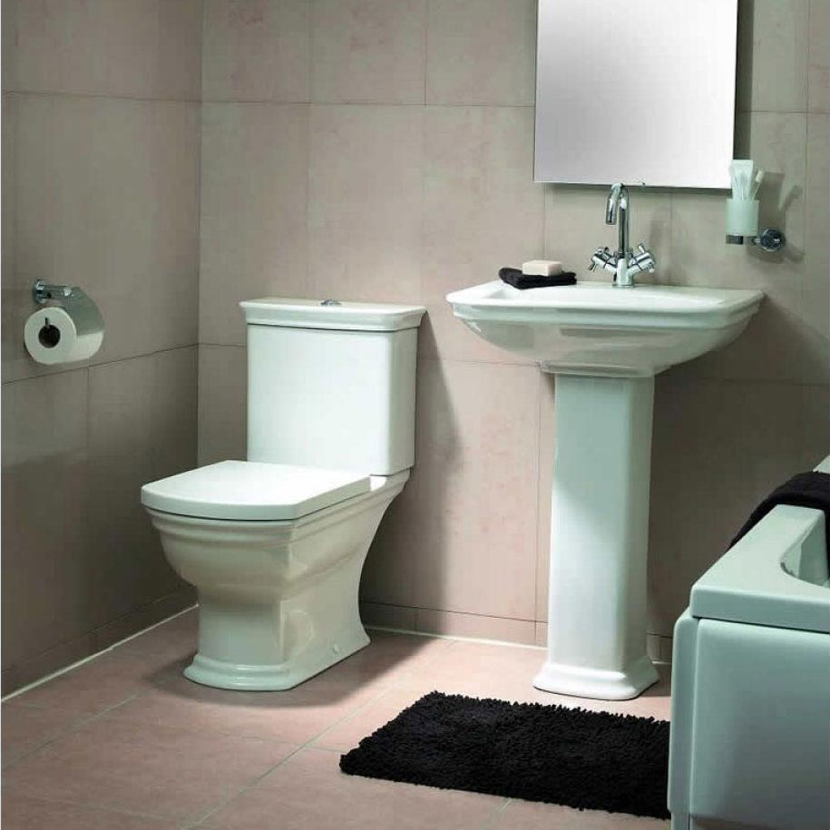 Vitra Serenada 4-Piece Traditional Bathroom Suite profile large image view 2