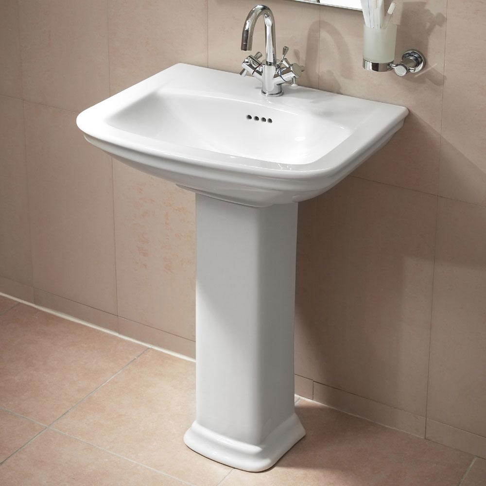 Vitra Serenada 4-Piece Traditional Bathroom Suite profile large image view 4