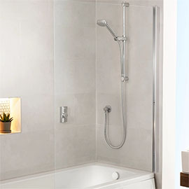 Aqualisa Visage Q Smart Shower Concealed with Adjustable Head and Bath Fill