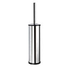Venice Chrome Toilet Brush & Holder profile small image view 1