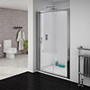 Newark Sliding Shower Door - Various Sizes (Height - 1850mm) profile small image view 1