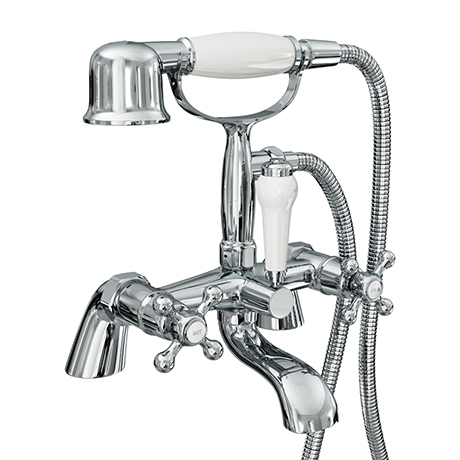 Victoria Traditional Bath Shower Mixer Taps