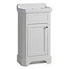 Tavistock Vitoria 500mm Cloakroom Unit & Basin - Linen White profile small image view 1