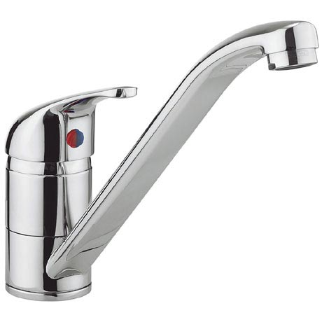 Crosswater - Cucina Vital Single Lever Kitchen Mixer - Chrome - VT710DC