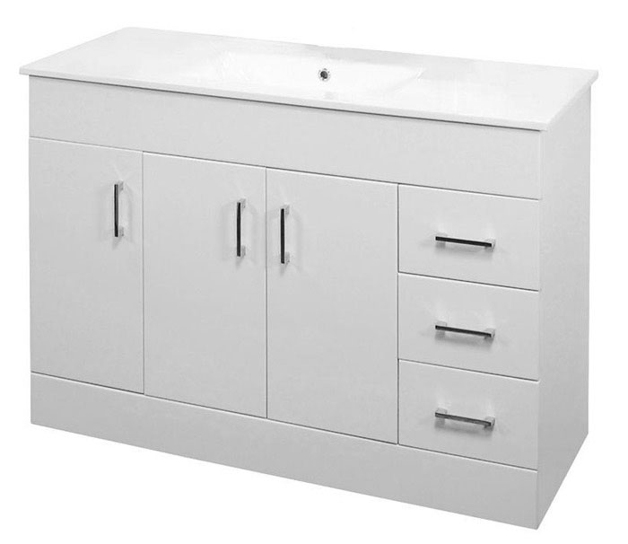 flat pack bathroom cabinets 1200mm minimalist high gloss white vanity unit with 15480