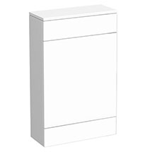 Turin High Gloss White Back To Wall WC Unit W500 x D200mm - VTYW200 Medium Image
