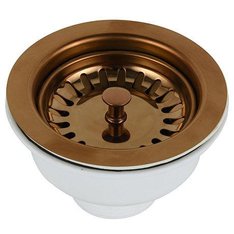 Venice Copper Basket Strainer Kitchen Sink Waste