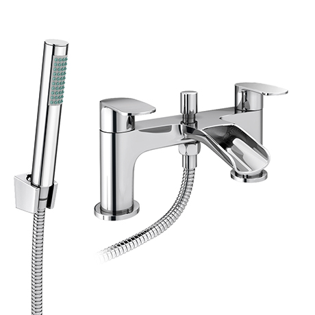 Valencia Waterfall Bath Shower Mixer Inc. Shower Kit