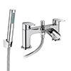 Valencia Waterfall Bath Shower Mixer inc. Shower Kit profile small image view 1