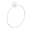 Venice White Towel Ring profile small image view 1