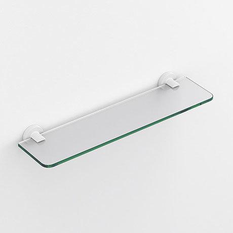 Venice White 500mm Glass Shelf