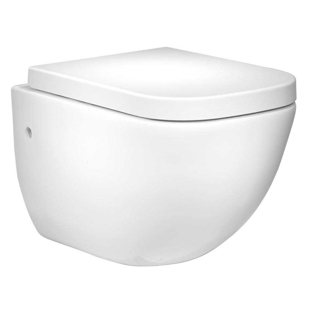 Roper Rhodes Version Wall Hung WC Pan & Soft Close Seat Large Image