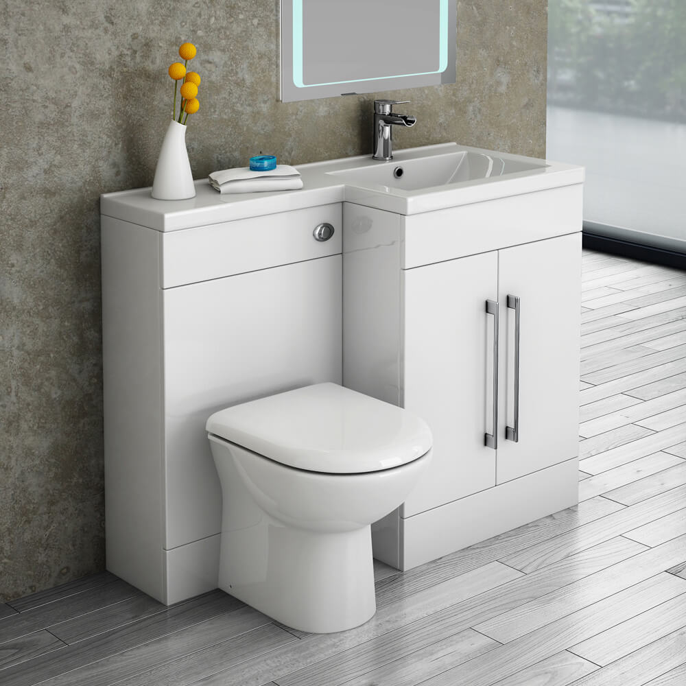 Valencia RH 1100mm Combination Bathroom Suite Unit | Victorian Plumbing