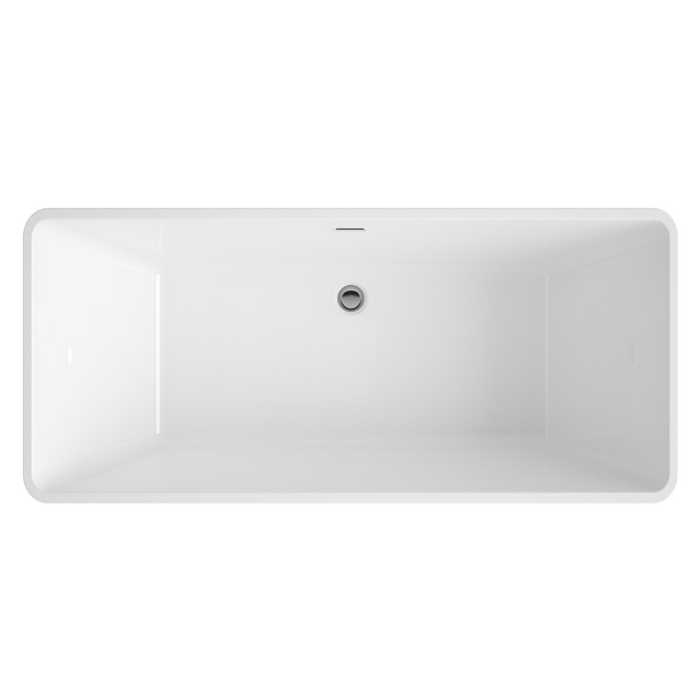 Valencia 1615 Square Modern Freestanding Bath Feature Large Image