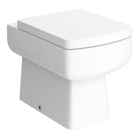 Valencia Back To Wall Toilet + Soft Close Seat