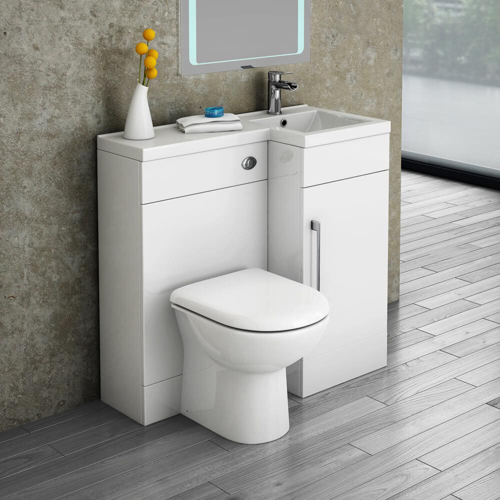 Valencia Toilet, Basin & Vanity Combination Unit