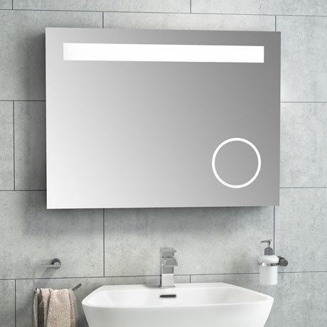Vancouver 800x600mm LED Mirror Inc. Infared Sensor, Anti-Fog + Shaving Port