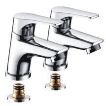 Bristan - Vantage Easyfit Basin Taps - Chrome - VT-1/2-C