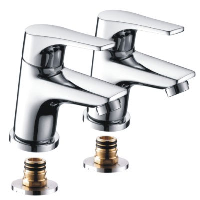 Bristan - Vantage Easyfit Bath Taps Chrome - Chrome - VT-3/4-C profile large image view 1
