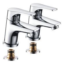 Bristan - Vantage Easyfit Bath Taps Chrome - Chrome - VT-3/4-C Medium Image