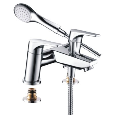 Bristan - Vantage Easyfit Bath Shower Mixer - Chrome - VT-BSM-C Large Image