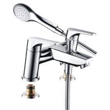 Bristan - Vantage Easyfit Bath Shower Mixer - Chrome - VT-BSM-C Medium Image