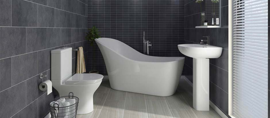 Vegas Modern Bath Suite
