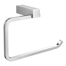 Vela Towel Ring - Chrome Medium Image